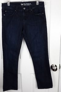 Gap Womens Real Straight Fit Jeans Size 6 Short